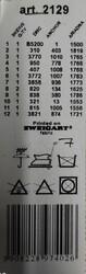 ORCHIDEA BASKILI GOBLEN 15*15 CM. 2129D - Thumbnail