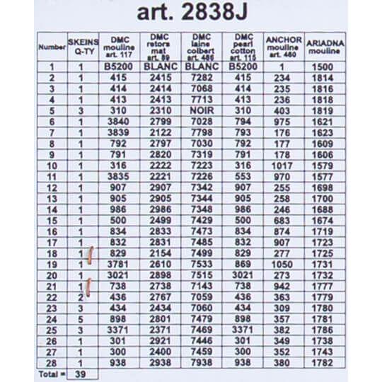 ORCHIDEA BASKILI GOBLEN 30*40 CM. 2838J