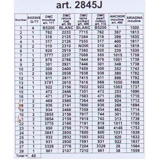 ORCHIDEA BASKILI GOBLEN 30*40 CM. 2845J