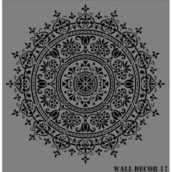 Rich - RİCH WALL DECOR STENCİL 50*51 CM. NO:17