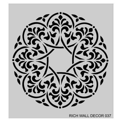 RİCH WALL DECOR STENCİL 50*55 CM. NO:37
